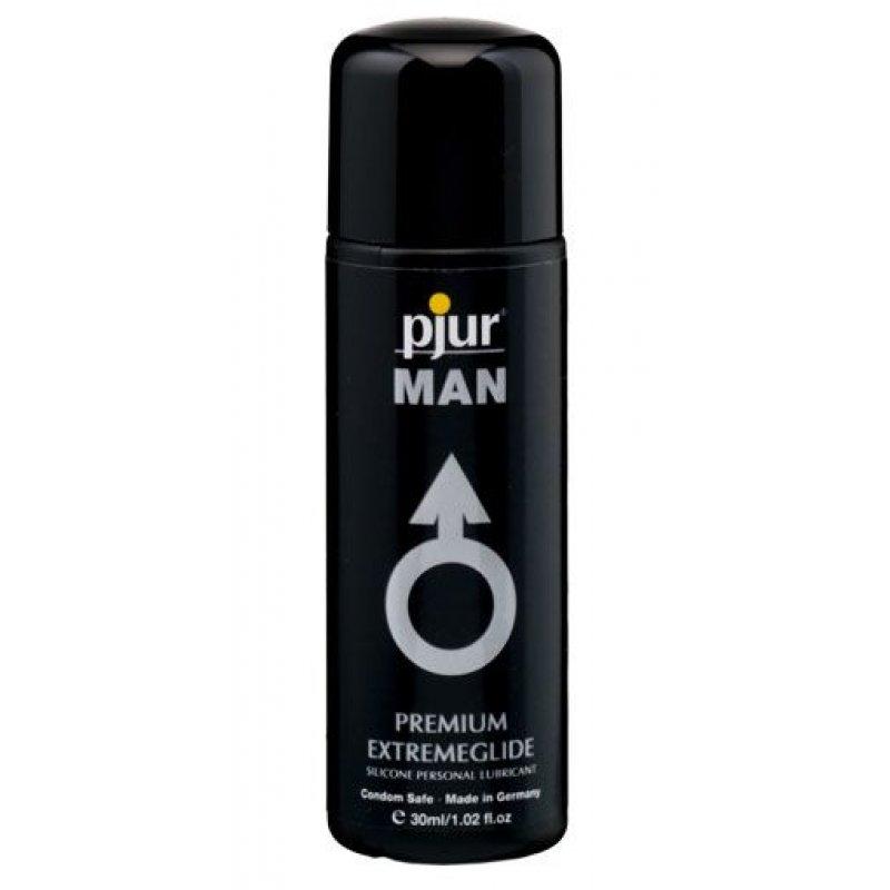 Густая силиконовая смазка Pjur MAN Premium Extremeglide 30 мл с длительным эффектом, экономная