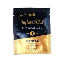 Пробник геля для стимуляции члена Intt Inflate XXL (2 мл) со вкусом ко...