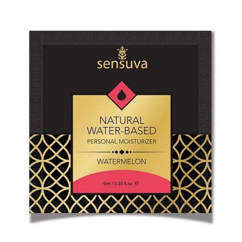Пробник лубриканта на водной основе Sensuva - Natural Water-Based Watermelon (6 мл)