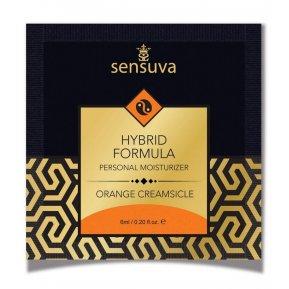 Пробник лубриканта на гибридной основе Sensuva - Hybrid Formula Orange Creamsicle (6 мл)