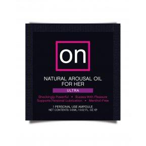 Пробник возбуждающего масла Sensuva - ON Arousal Oil for Her Ultra (0,5 мл)