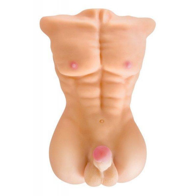 Торс мужчины Real Body - My Man, пенис и анус (помята упаковка)