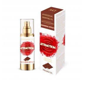 Разогревающее массажное масло с феромонами MAI MASSAGE OIL - CHOCOLATE (30 мл) (без упаковки)