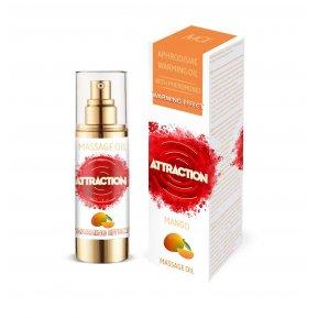 Разогревающее массажное масло с феромонами MAI MASSAGE OIL - MANGO (30 мл) (без упаковки)