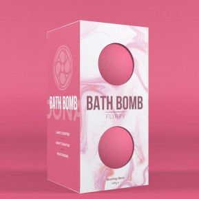 Набор бомбочек для ванны Dona Bath Bomb Flirty Blushing Berry (140 гр) (годен до 08.21)