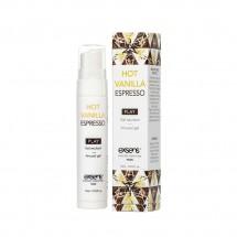 Стимулирующий гель EXSENS Kissable Hot Vanilla Espresso 15мл (срок год...