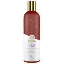 Натуральное массажное масло DONA Relax - Lavender&Tahitian Vanilla...