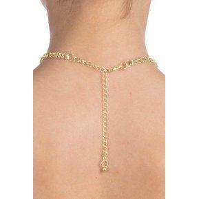 Колье со стразами Bijoux Pour Toi - Audrey Gold