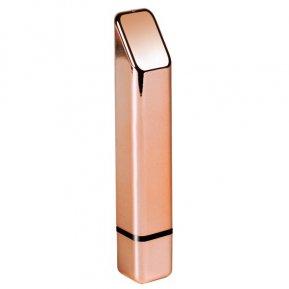 Мощный минивибратор Rocks Off Bamboo Rose Gold, 10 режимов работы, водонепроницаемый