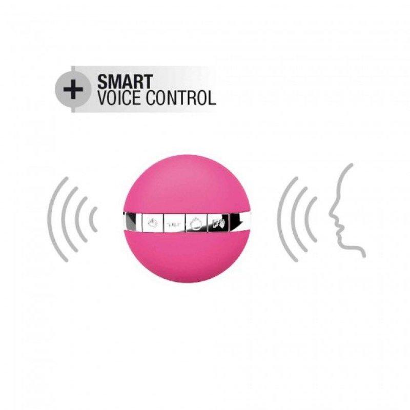Виброяйцо Dorcel Secret Delight Magenta с пультом ДУ, с турборежимом и голосовым управлением