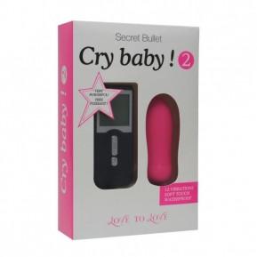 Виброяйцо Love To Love Cry Baby 2 с пультом ДУ