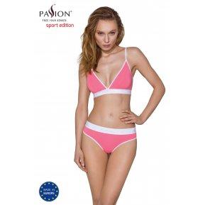 Спортивные трусики-стринги Passion PS007 PANTIES pink, size XL