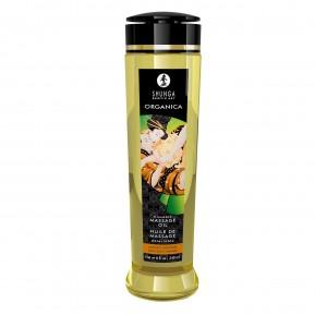 Органическое массажное масло Shunga ORGANICA - Almond Sweetness (240 мл) с витамином Е