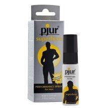 Пролонгирующий спрей Pjur Superhero Spray 20 мл, впитывается в кожу, н...