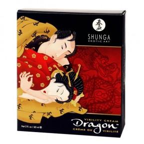 Стимулирующий крем для пар Shunga SHUNGA Dragon Cream (60 мл), эффект тепло-холод и покалывание
