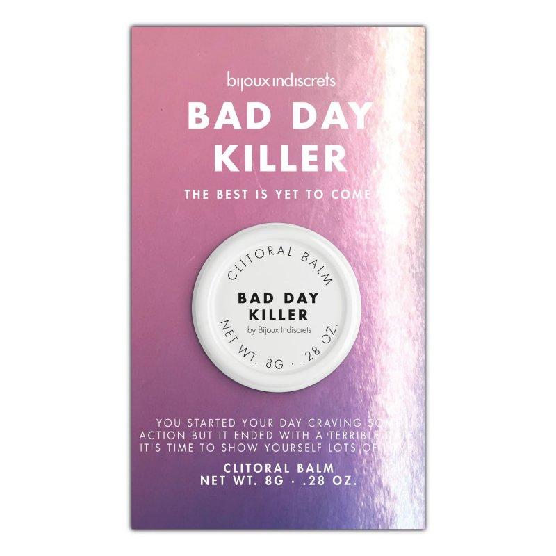 Бальзам для клитора Bijoux Indiscrets Bad Day Killer (Наслаждайся каждым днем), разогревающий