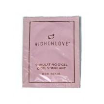 Пробник стимулирующего геля-вибратора HighOnLove Stimulating Gel O Gel...