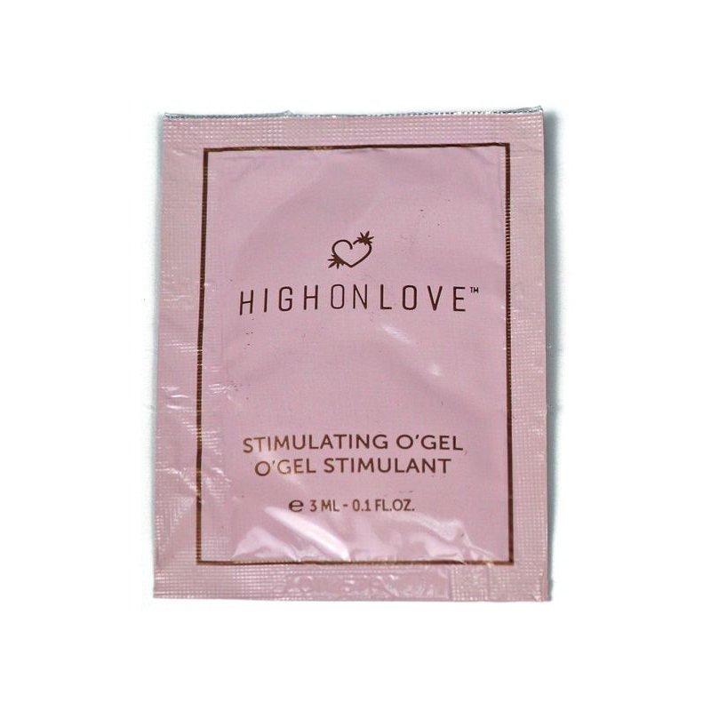 Пробник стимулирующего геля-вибратора HighOnLove Stimulating Gel O Gel (3 мл)