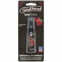 Спрей для минета Doc Johnson GoodHead Tingle Spray – Strawberry (29 мл...