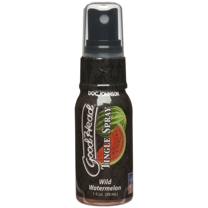 Спрей для минета Doc Johnson GoodHead Tingle Spray – Watermelon (29 мл) со стимулирующим эффектом