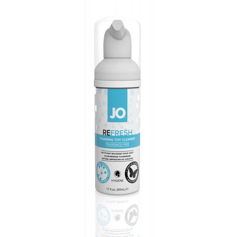 Мягкая пенка для очистки игрушек System JO REFRESH (50 мл) дезинфицирующая, проникает глубоко