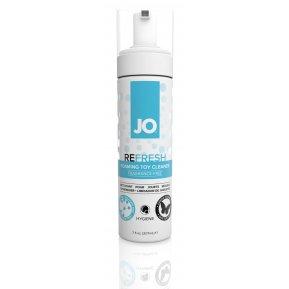 Мягкая пенка для очистки игрушек System JO REFRESH (207 мл) дезинфицирующая, проникает глубоко