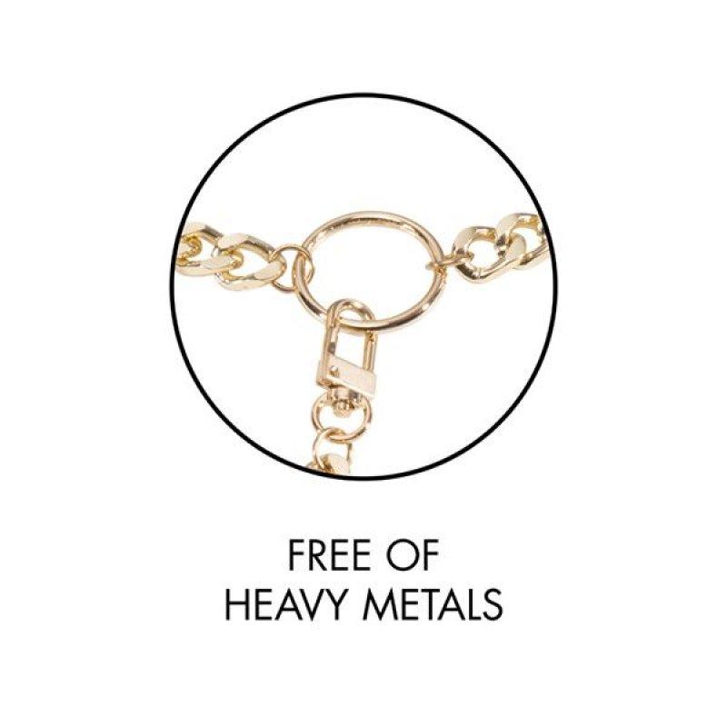 Пара браслетов на запястье и палец Bijoux Indiscrets MAZE Hand Bracelet Harness Black, экокожа