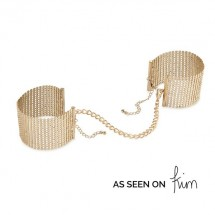Наручники Bijoux Indiscrets Desir Metallique Handcuffs - Gold, металли...