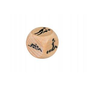 Деревянный кубик с позами для секса Adrien Lastic Dice Sexy (1 шт)