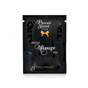 Пробник массажного масла Plaisirs Secrets Pina Colada (3 мл)
