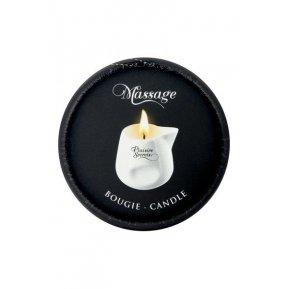 Массажная свеча Plaisirs Secrets Peach (80 мл) подарочная упаковка, керамический сосуд