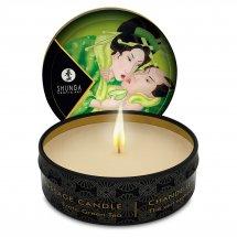 Массажная свеча Shunga Mini Massage Candle - Exotic Green Tea (30 мл) ...