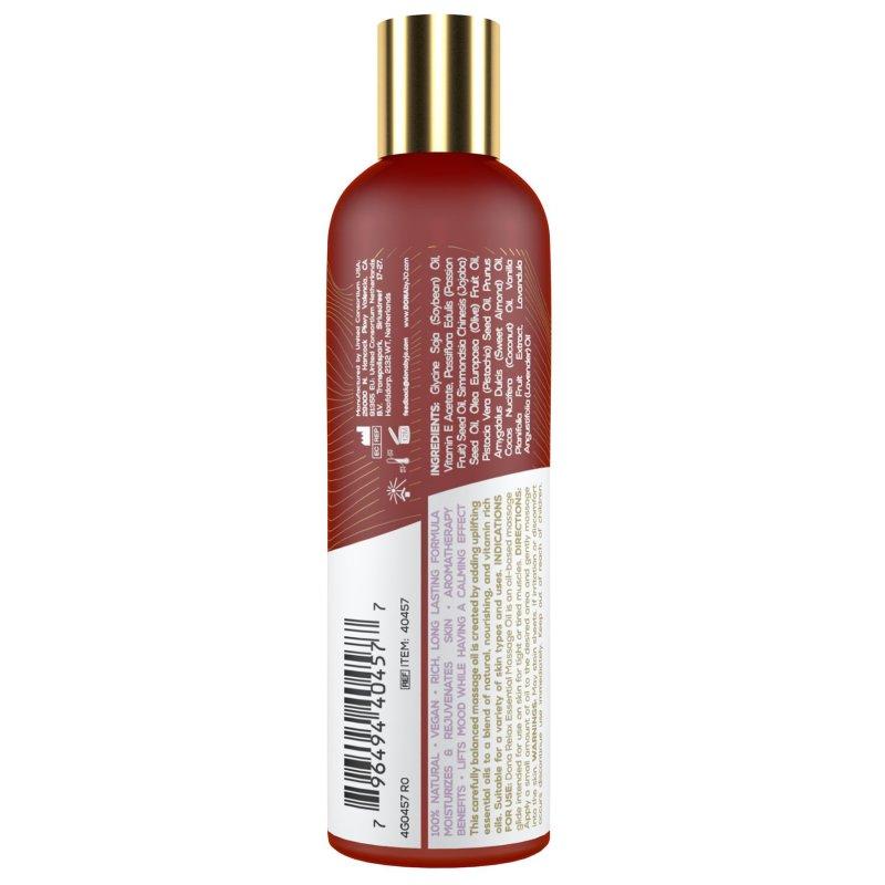 Натуральное массажное масло DONA Relax - Lavender & Tahitian Vanilla (120 мл) с эфирными маслами