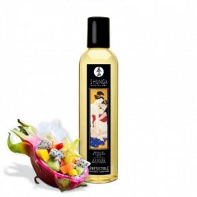 Массажное масло Shunga Irresistible - Asian Fusion (250 мл) натуральное увлажняющее
