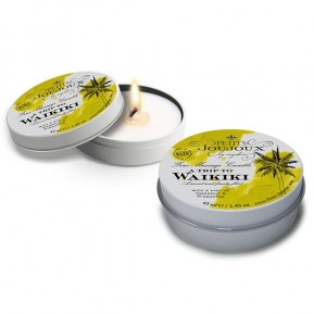 Массажная свечa Petits Joujoux - Waikiki Beach - Coconut and Pineapple (43 мл) с афродизиаками
