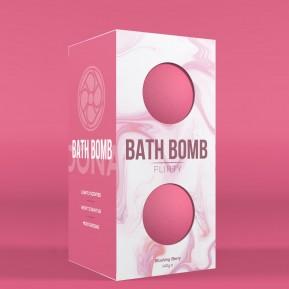 Набор бомбочек для ванны Dona Bath Bomb Flirty Blushing Berry (140 гр) с афродизиаками и феромонами