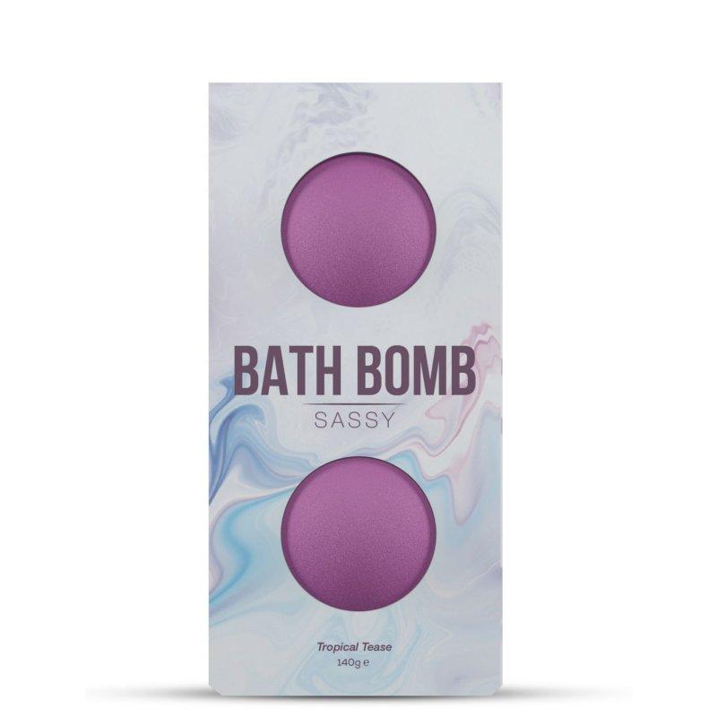Набор бомбочек для ванны Dona Bath Bomb Sassy Tropical Tease (140 гр) с афродизиаками и феромонами
