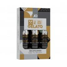 Набор System JO Tri-Me Triple Pack - Gelato (3 х 30 мл) три разных вку...