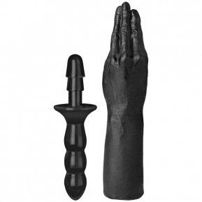 Рука для фистинга Doc Johnson Titanmen The Hand with Vac-U-Lock Compatible Handle, диаметр 6,9см