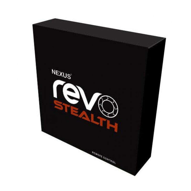 Массажер простаты Nexus Revo Stealth с вращающейся головкой и пультом ДУ, макс диаметр 3,2см