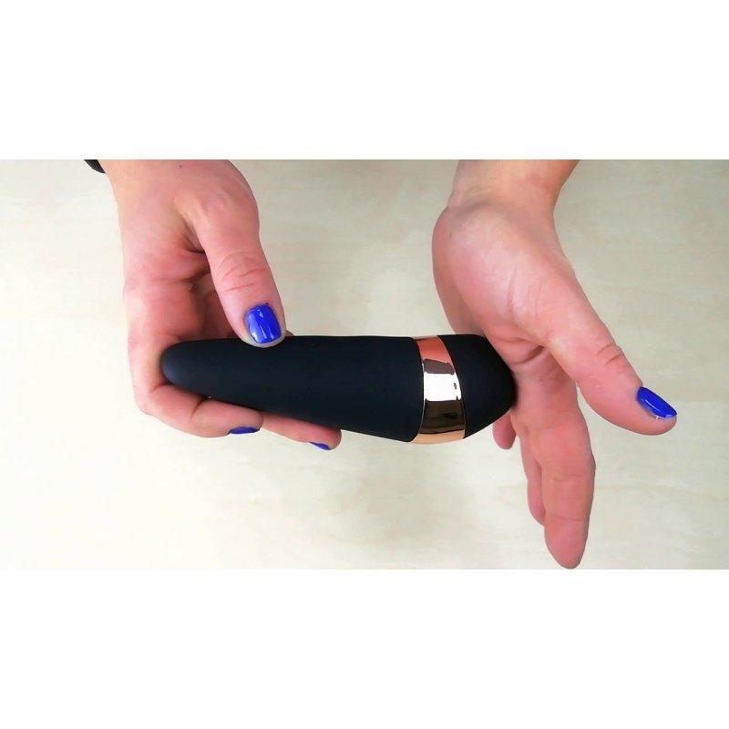 Вакуумный клиторальный стимулятор Satisfyer Pro 3 Vibration с вибрацией и очень мягким кончиком