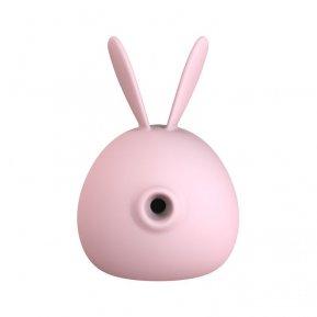 Вакуумный стимулятор с вибрацией KissToy Miss KK Pink