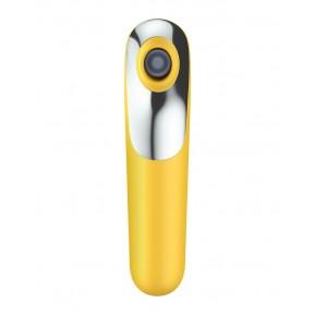 Смарт вибратор и вакуумный стимулятор 2-в-1 Satisfyer Dual Love Yellow