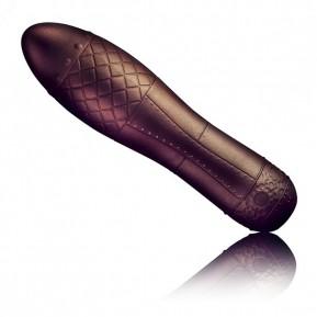 Вибратор Rocks Off Dr Roccos Zeppelina в стиле стимпанк, soft-touch силикон