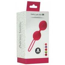 Вагинальные шарики Adrien Lastic Geisha Lastic Balls Mini Pink (S), ди...