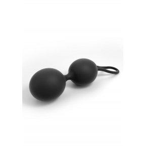 Вагинальные шарики Dorcel Dual Balls Black, диаметр 3,6см, вес 55гр
