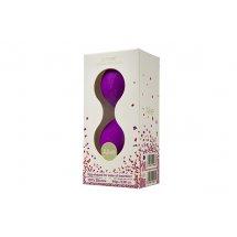Вагинальные шарики Alive U-Tone Balls Purple, диаметр 3,5см, вес 77гр