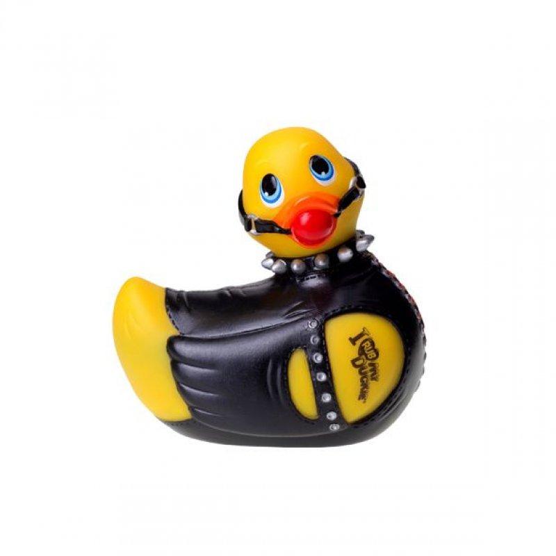 Вибромассажер уточка I Rub My Duckie - Bondage Yellow, любительница BDSM
