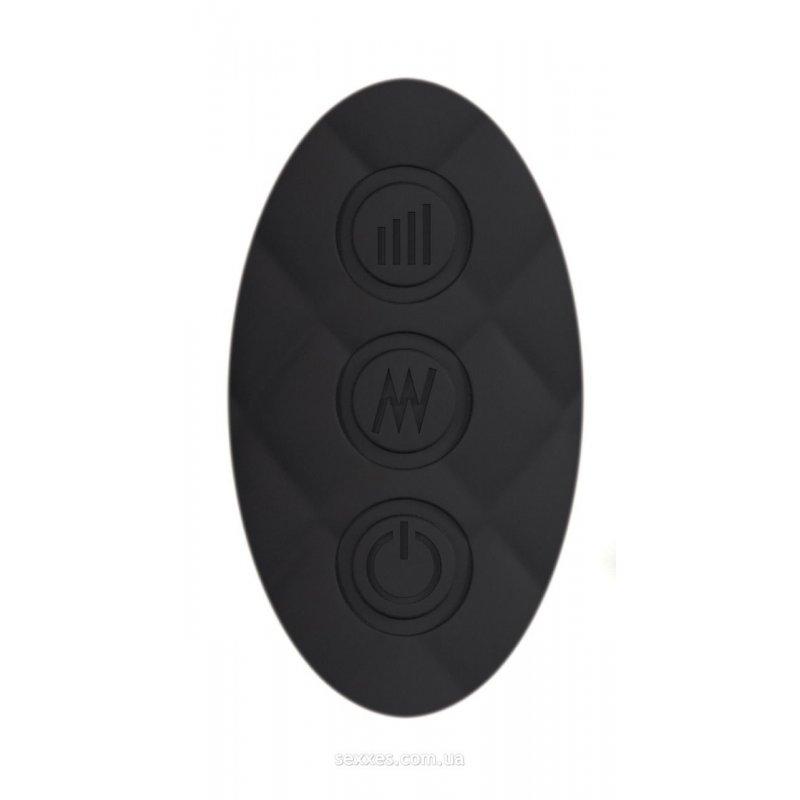 Минивибромассажер Dorcel Wand Wanderful Black мощный, водонепроницаемый, 18 режимов работы