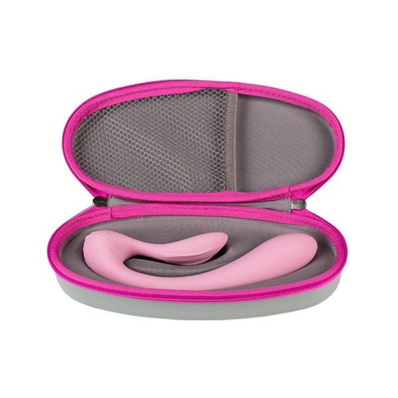 Вибратор Femintimate Dual Massager вагинально-клиторальный с чехлом для храненя, 2 мотора